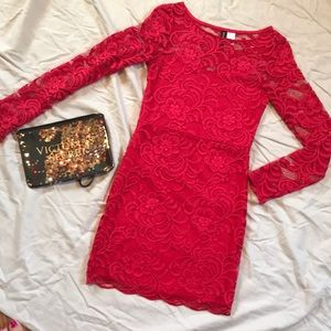 Little red dress!! Perfect dress for a night out